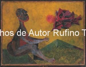 Derechos-de-Autor-Rufino-Tamayo-Oleo-1944-Amigo de los pájaros