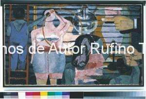 Derechos-de-Autor-Rufino-Tamayo-Oleo-1934-Anuncio de corsetería
