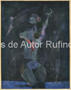 Derechos-de-Autor-Rufino-Tamayo-Oleo-1949-Bailarinas en la noche