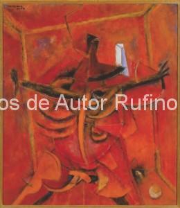 Derechos-de-Autor-Rufino-Tamayo-Oleo-1954-Claustrofobia