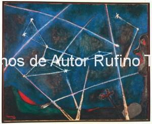 Derechos-de-Autor-Rufino-Tamayo-Oleo-1946-Cuerpos celestes