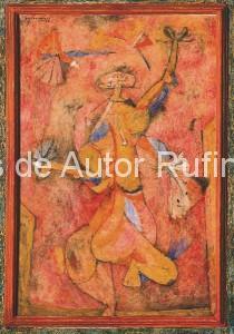 Derechos-de-Autor-Rufino-Tamayo-Oleo-1950-Danza de la Alegría