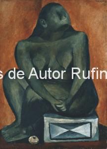 Derechos-de-Autor-Rufino-Tamayo-Oleo-1931-Desnudo en gris