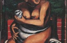 Desnudo en rojo, 1930