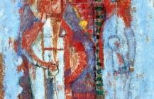 Dos personajes en azul, 1961