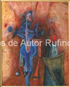 Derechos-de-Autor-Rufino-Tamayo-Oleo-1953-El Fantasma