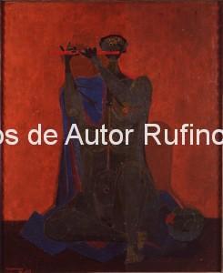 Derechos-de-Autor-Rufino-Tamayo-Oleo-1944-El flautista