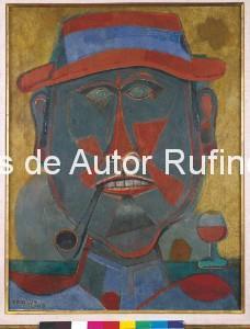 Derechos-de-Autor-Rufino-Tamayo-Oleo-1945-El fumador