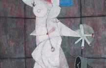 Figura blanca desnuda, 1950