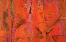 Hombre con pipa, 1964