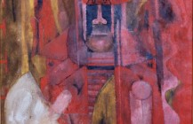 Hombre en rojo, 1969