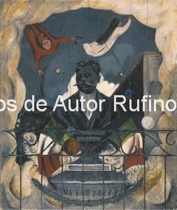 Derechos-de-Autor-Rufino-Tamayo-Oleo-1935-Homenaje a Zapata