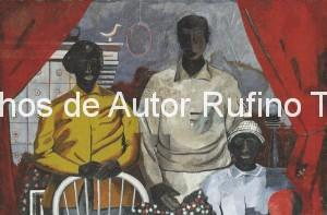 Derechos-de-Autor-Rufino-Tamayo-Oleo-1936-La familia