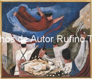 Derechos-de-Autor-Rufino-Tamayo-Oleo-1935-La llamada de la revolución