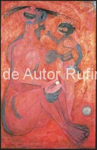 Derechos-de-Autor-Rufino-Tamayo-Oleo-1950-La perla