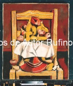 Derechos-de-Autor-Rufino-Tamayo-Oleo-1929-La silla amarilla