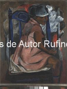 Derechos-de-Autor-Rufino-Tamayo-Oleo-1931-La silla azul