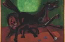 León y caballo, 1942