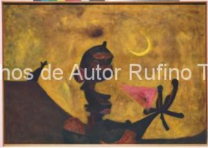 Derechos-de-Autor-Rufino-Tamayo-Oleo-1949-Loco II