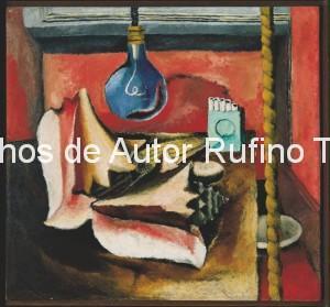 Derechos-de-Autor-Rufino-Tamayo-Oleo-1929-Los caracoles