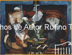 Derechos-de-Autor-Rufino-Tamayo-Oleo-1931-Los fumadores