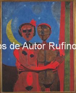 Derechos-de-Autor-Rufino-Tamayo-Oleo-1943-Luna de miel