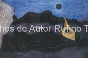 Derechos-de-Autor-Rufino-Tamayo-Oleo-1950-Músicas dormidas