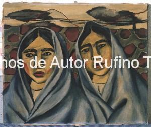 Derechos-de-Autor-Rufino-Tamayo-Oleo-1930-Mujeres