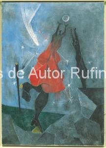 Derechos-de-Autor-Rufino-Tamayo-Oleo-1946-Mujeres alcanzando la luna