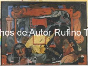 Derechos-de-Autor-Rufino-Tamayo-Oleo-1932-Musas de la pintura
