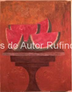 Derechos-de-Autor-Rufino-Tamayo-Oleo-1957-Naturaleza muerta