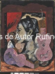Derechos-de-Autor-Rufino-Tamayo-Oleo-1932-Naturaleza muerta con cabeza