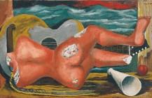 Naturaleza muerta con desnudo y guitarra, 1931