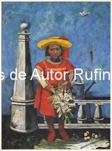Derechos-de-Autor-Rufino-Tamayo-Oleo-1937-Niña bonita
