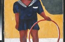 Niña con aro, 1932