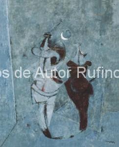 Derechos-de-Autor-Rufino-Tamayo-Oleo-1957-Noche de misterios