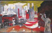 Nueva York desde la terraza, 1937