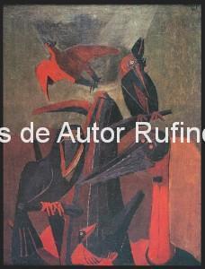 Derechos-de-Autor-Rufino-Tamayo-Oleo-1941-Pájaros