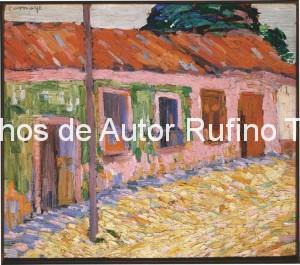Derechos-de-Autor-Rufino-Tamayo-Oleo-1921-Paisaje