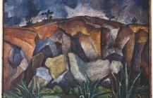 Paisaje con rocas, 1925