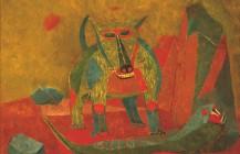 Perro y serpiente, 1943