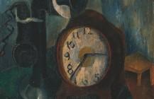Reloj y teléfono, 1925