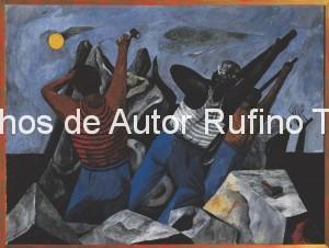 Derechos-de-Autor-Rufino-Tamayo-Oleo-1935-Ritmo obrero