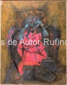 Derechos-de-Autor-Rufino-Tamayo-Oleo-1957-Telefonitis