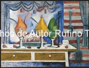 Derechos-de-Autor-Rufino-Tamayo-Oleo-1938-Tres helados