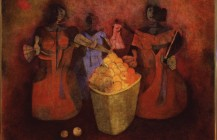 Vendedora de fruta, 1952