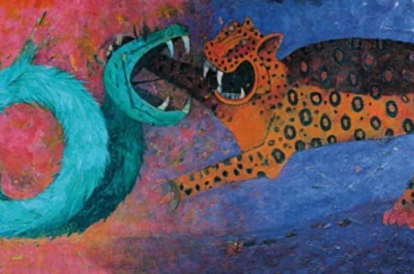 Rufino-Tamayo-Mural-1964-Dualidad-oficina-de-derechos-de-autor-rufino-tamayo