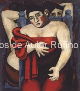 Rufino Tamayo - Oleo - Bañistas - 1930