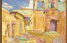 El calvario de Oaxaca, 1921