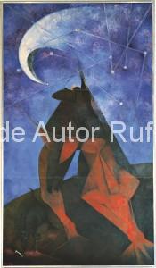 Derechos de autor Rufino Tamayo - Pintura mural - El Hombre - 1953